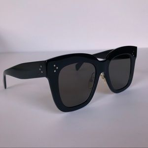 b239113c82d8a Celine Accessories - CELINE Kim Black Oversized Sunglasses CL 41444